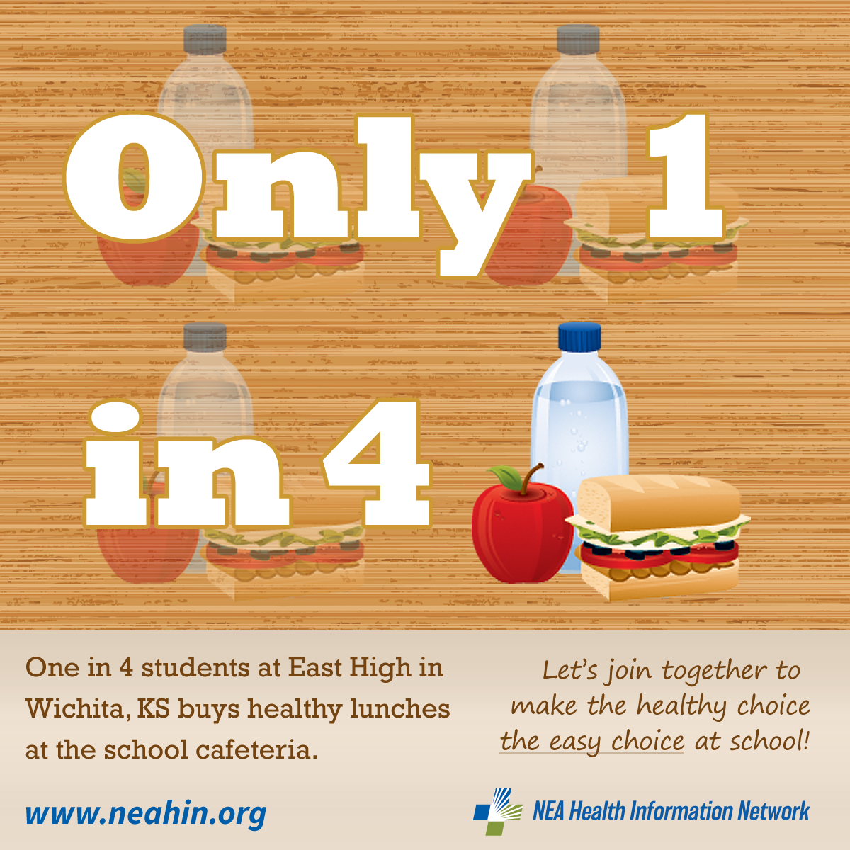 One In 4 Students At East High School In Wichita Ks Buys Healthy Lunches At The School Cafeteria School Cafeteria School Food Healthy Lunch