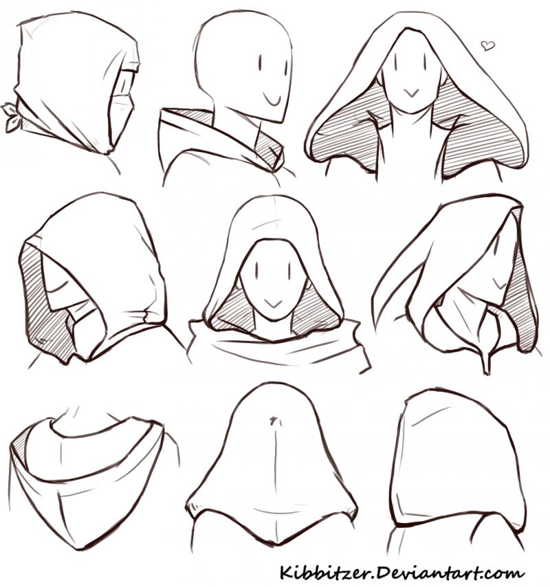 Hoods Reference Sheet | kibbitzer on Patreon