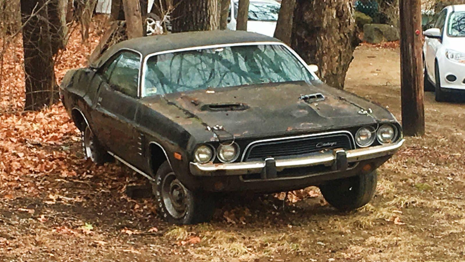 John M\'s Roadside Sightings In Maine | Abandoned cars, Barn finds ...