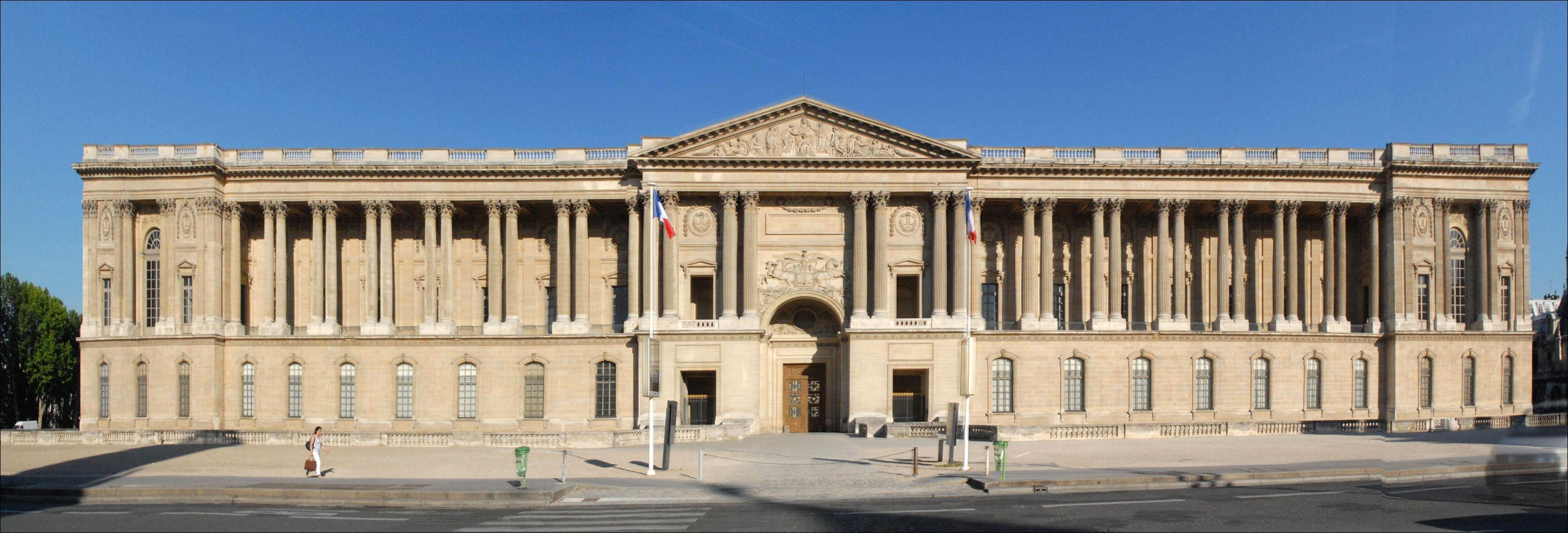 1670 la colonnade du louvre constitue la fa ade for Architecture orientale