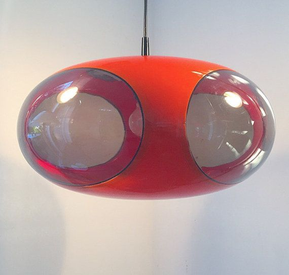 Space age deluxe ceiling light by Deerstedt on Etsy
