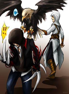 Ac P Altair And Alex Assassins Creed Artwork Assassins Creed Hoodie Assassins Creed 1