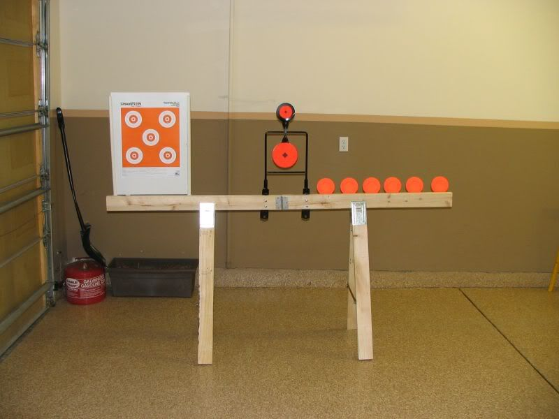 Shooting Target Stand Designs : Portable target stands hangers pic heavy shooting
