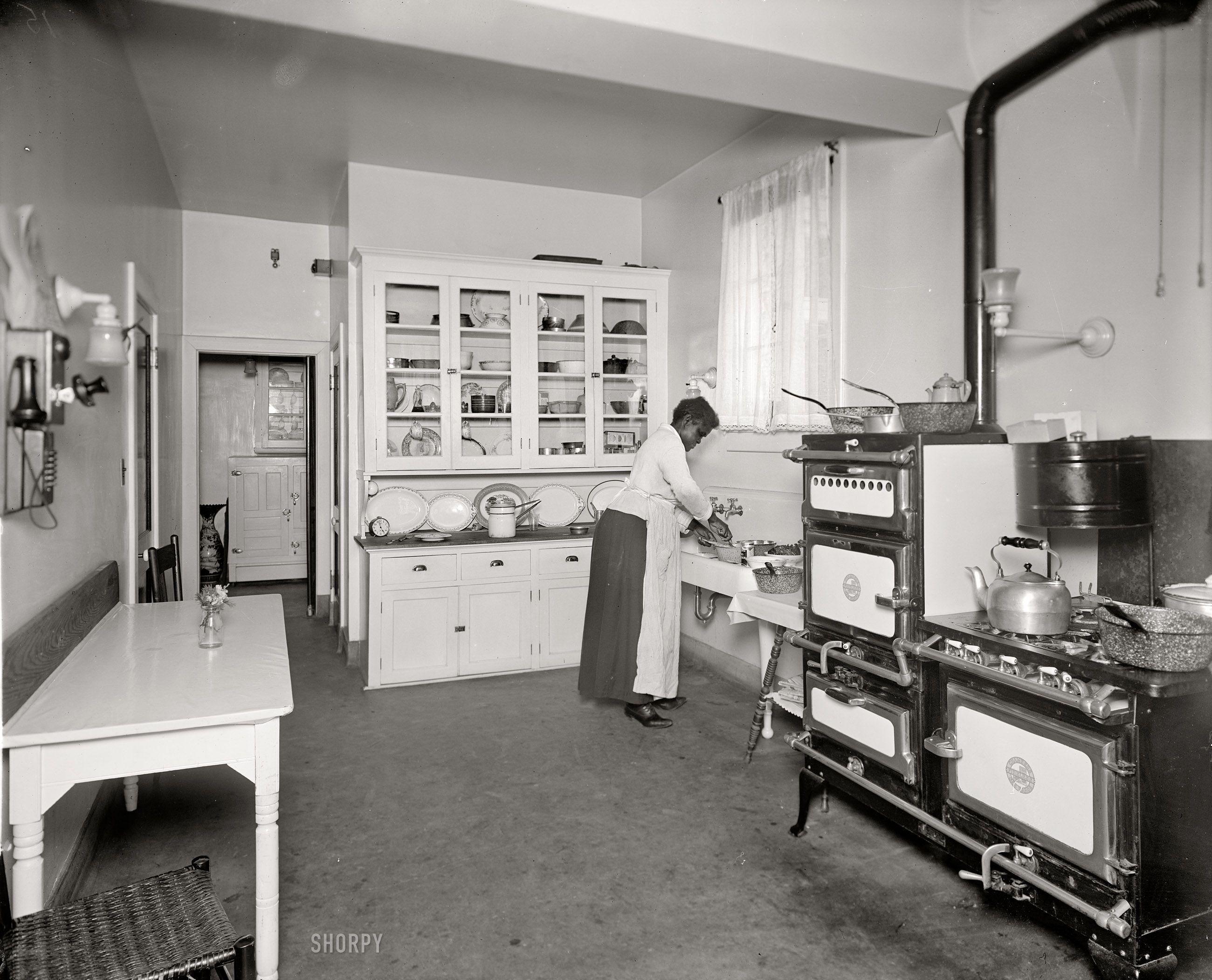 "the modern kitchen: 1920. washington, d.c., circa 1920. ""kitchen"