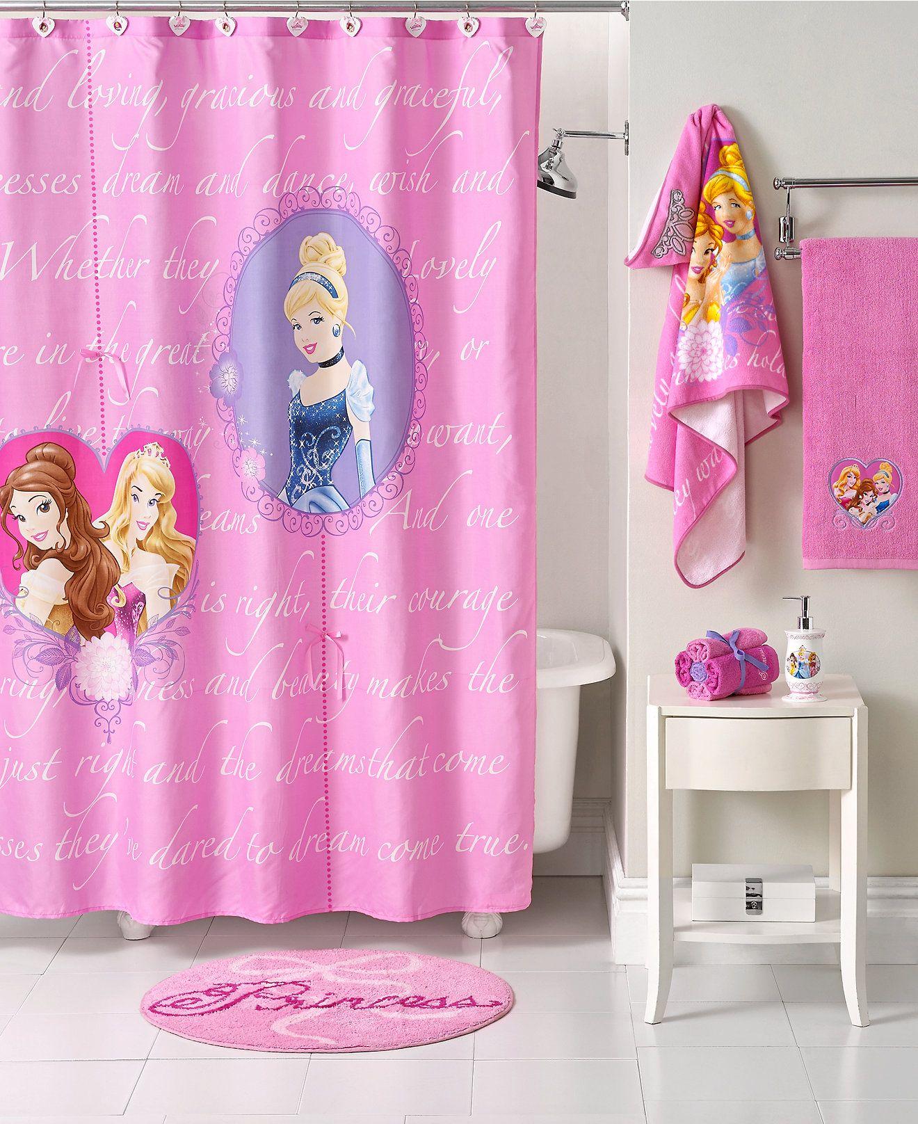 Disney Bath Accessories Princess
