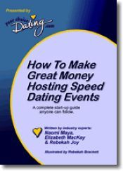 How to make great money hosting speed dating events