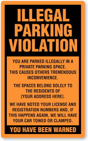 graphic about Fake Parking Ticket Printable named wrong parking ticket template Intended me giggle Ticket
