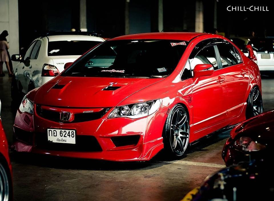 Civic fd type x RED HOT