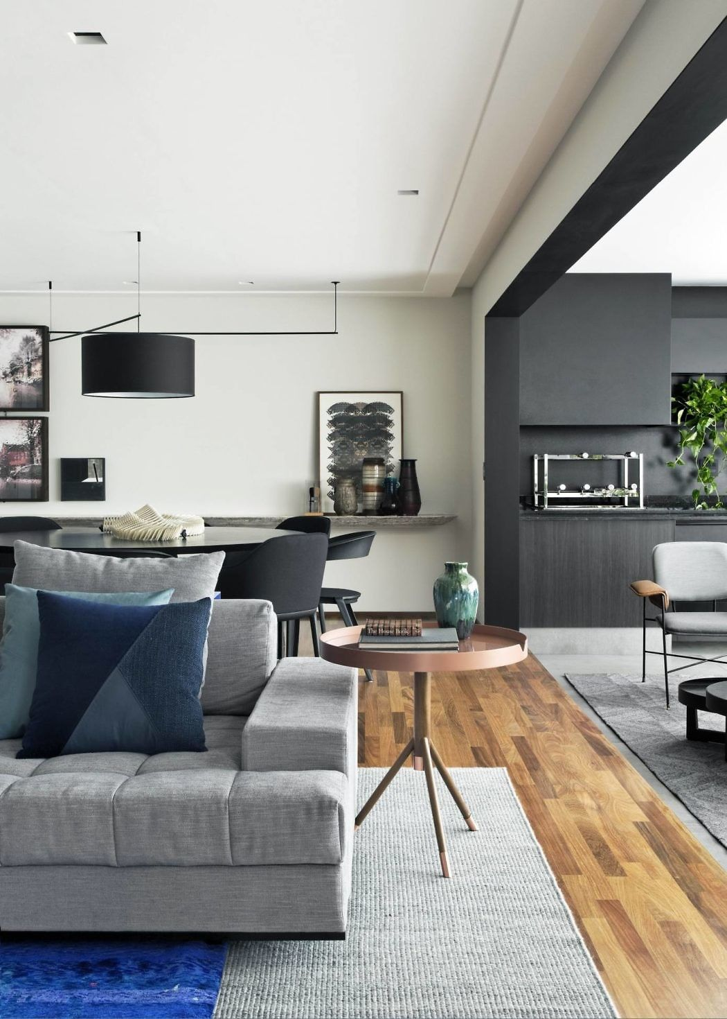 Wohnzimmerstil 2018 cumarú apartment by diego revollo arquitetura  vib in
