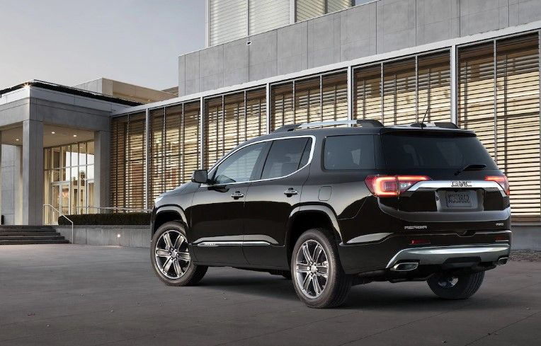 2020 Gmc Acadia Denali Changes Engine Exterior Design Acadia