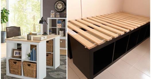 Voici 30 Idées Déco À Faire Soi-Même Dans La Maison Avec Des Cubes