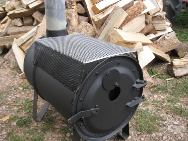 55 Gallon Drum Wood Stove WB Designs - Wood Stove Kit WB Designs