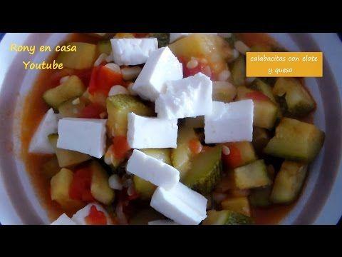 Calabacitas con Elote y Queso - receta fácil y deliciosa / Rony en casa - http://cryptblizz.com/como-se-hace/calabacitas-con-elote-y-queso-receta-facil-y-deliciosa-rony-en-casa/