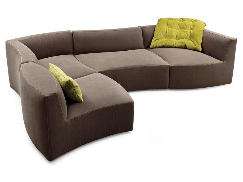 Modular Sofa River By Saba Italia Design Sergio Bicego