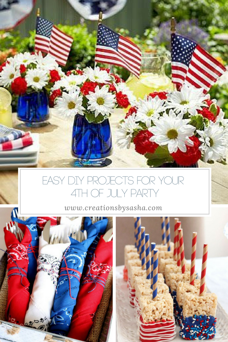Diy For 4th Of July Fourth Of July Decor 4th Of July Decorations 4th Of July Party