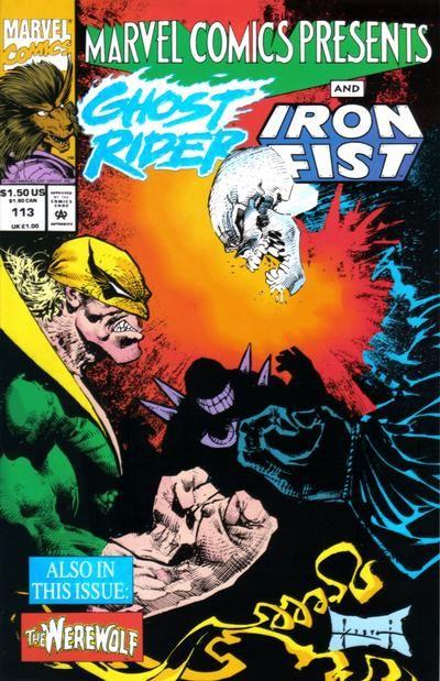 Marvel Comics Presents # 113 by Sam Kieth