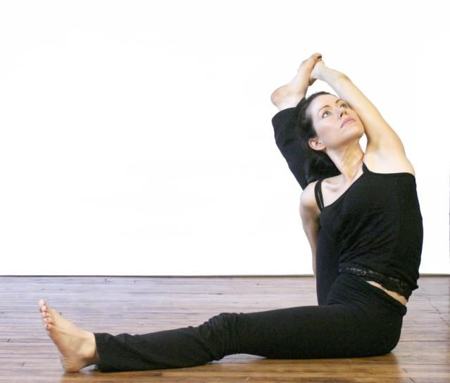 Try An Extreme Hamstring Stretch With Compass Pose In Yoga Seated Yoga Poses Compass Pose Yoga Poses