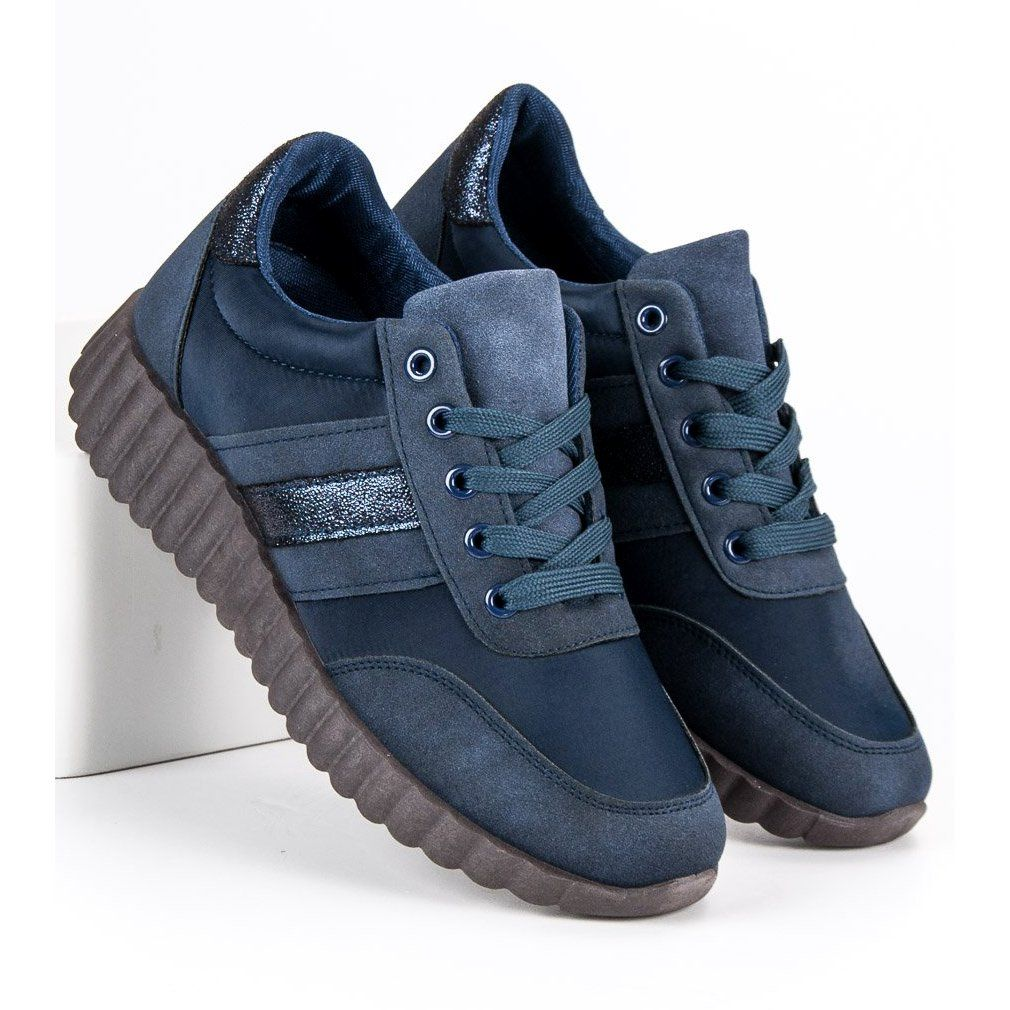 Kylie Navy Fashion Sneakers Blue Sneakers Fashion Sneakers Blue Urban Sneakers