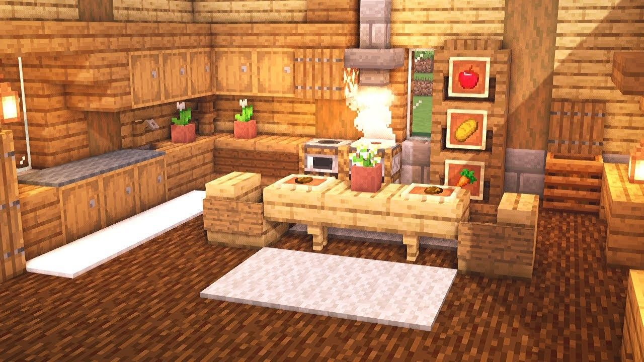 Pin By Neo Akira On Minecraft Rooms Minecraft Kitchen Ideas Minecraft Interior Design Minecraft House Designs