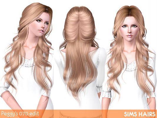 Sims 3 Hair Hairstyle Female Retexture Sims Hair Sims 3 Sims