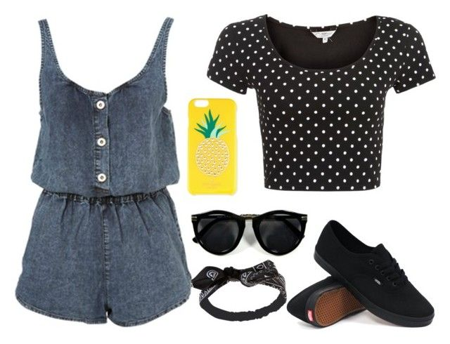 """""""Just A Whatever Day"""" by julie3624 ❤ liked on Polyvore featuring Vans, Wet Seal and Kate Spade"""