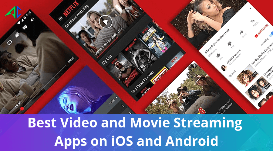 Top and Best Movie Streaming Apps on iOS and Android