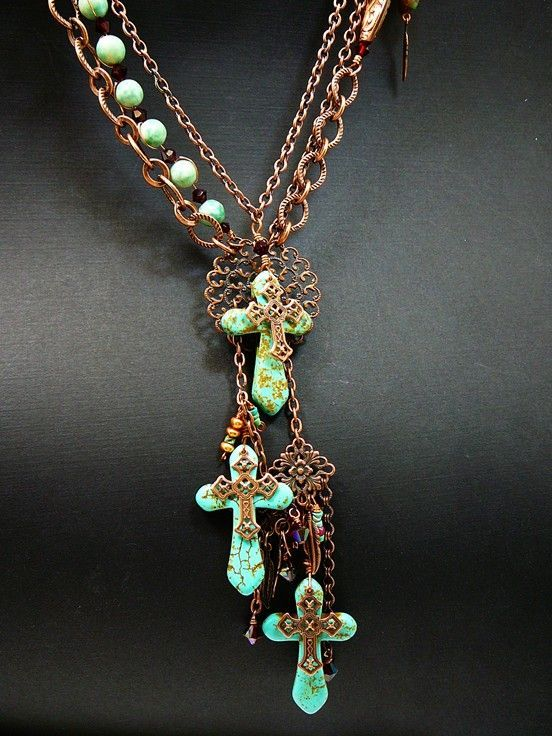 Glory Abounds ~ Out of My Mind Necklace from outofmymind on Ruby Lane