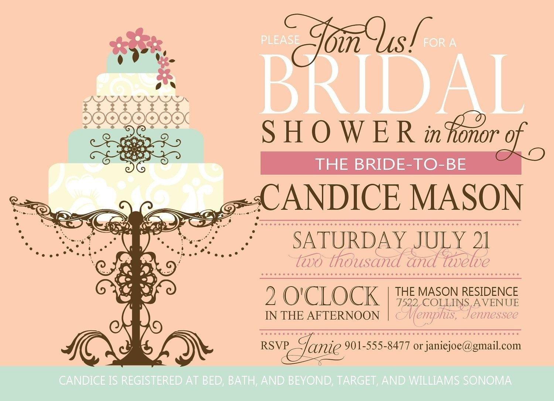 30 Vista Print Wedding Invitations Bridal Shower