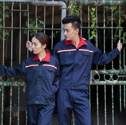 69.90$  Watch now - http://aliyxy.worldwells.pw/go.php?t=32732487136 - Set of Jacket+ Pants engineering uniform worker uniform repair uniform GCF-G2015EF