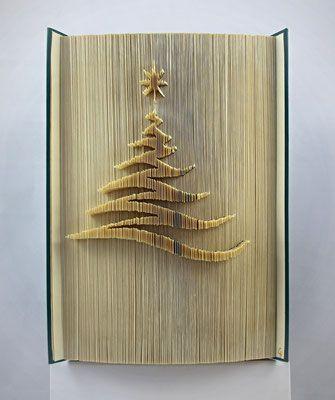 Originelles und persönliches Geschenk gesucht? Hier finden Sie Origami-Bücher mit individuell handgefalteten Motiven und Schriftzügen. #artdupliagedelivres