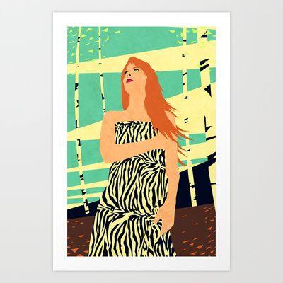 My Love Art Print by Yetiland - $18.00