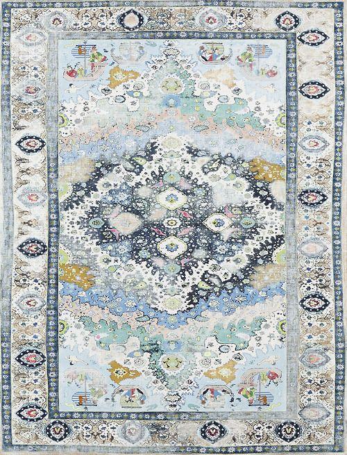 Gorgeous blue Persian rug