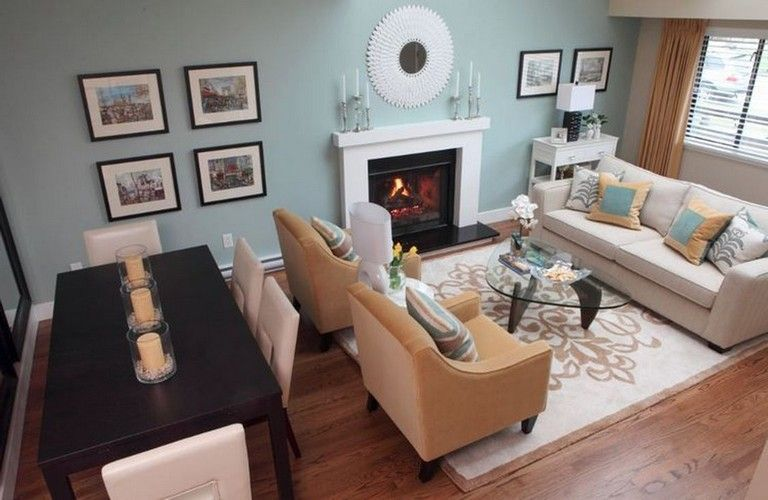 39+ Pretty Fireplace Decor Ideas For Your Living Room ... on Small Space Small Living Room With Fireplace  id=57513
