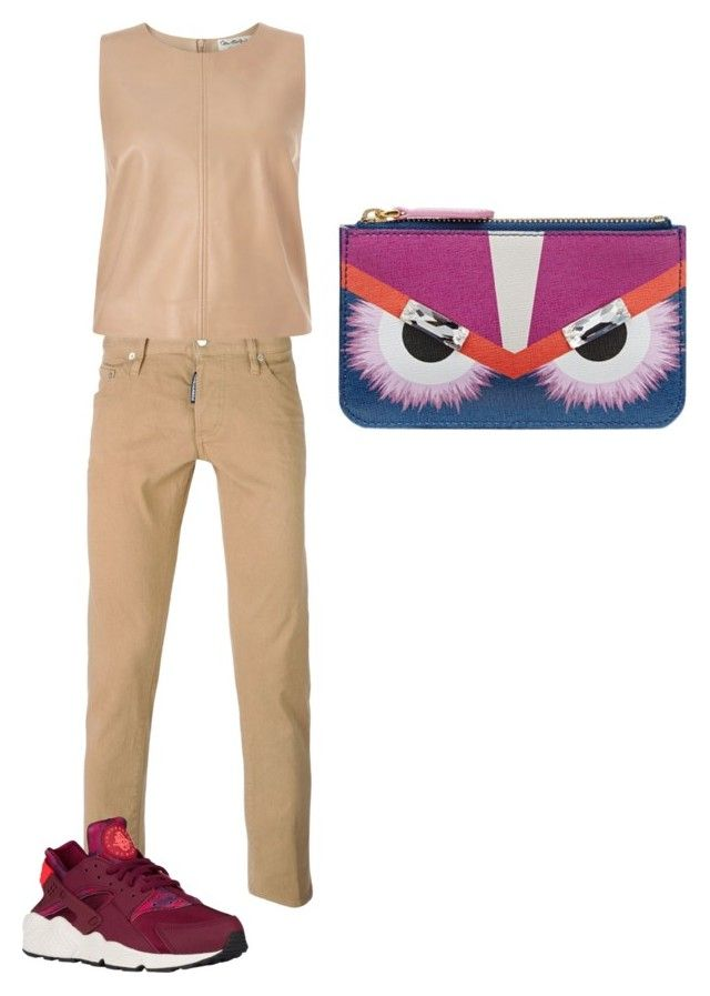 """Untitled #81"" by narrebybn on Polyvore featuring Dsquared2, Miss Selfridge, Fendi, women's clothing, women's fashion, women, female, woman, misses and juniors"