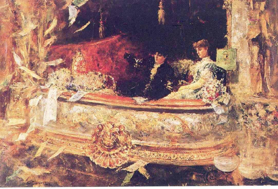 En el Balcon, 1884 by Juan Luna Art and Culture in 2019