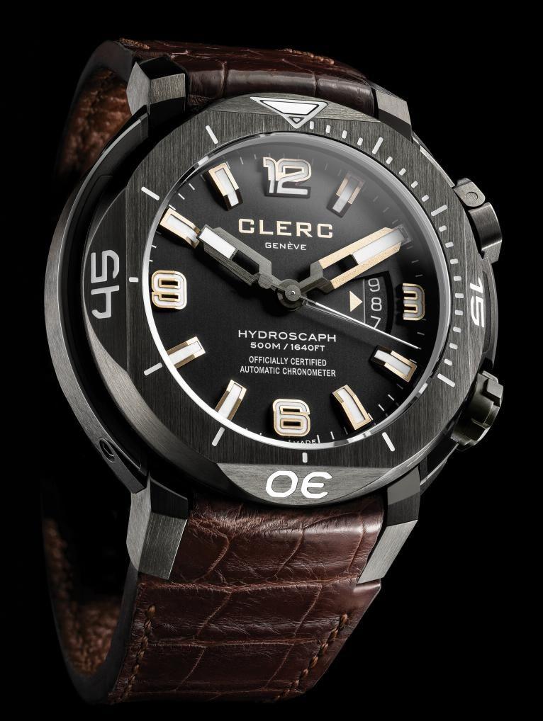 Clerc - Hydroscaph H1 Chronometer Diver