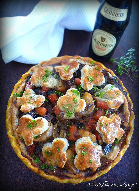 IRISH-INSPIRED STEAK & GUINNESS PIE | Beef recipes ...