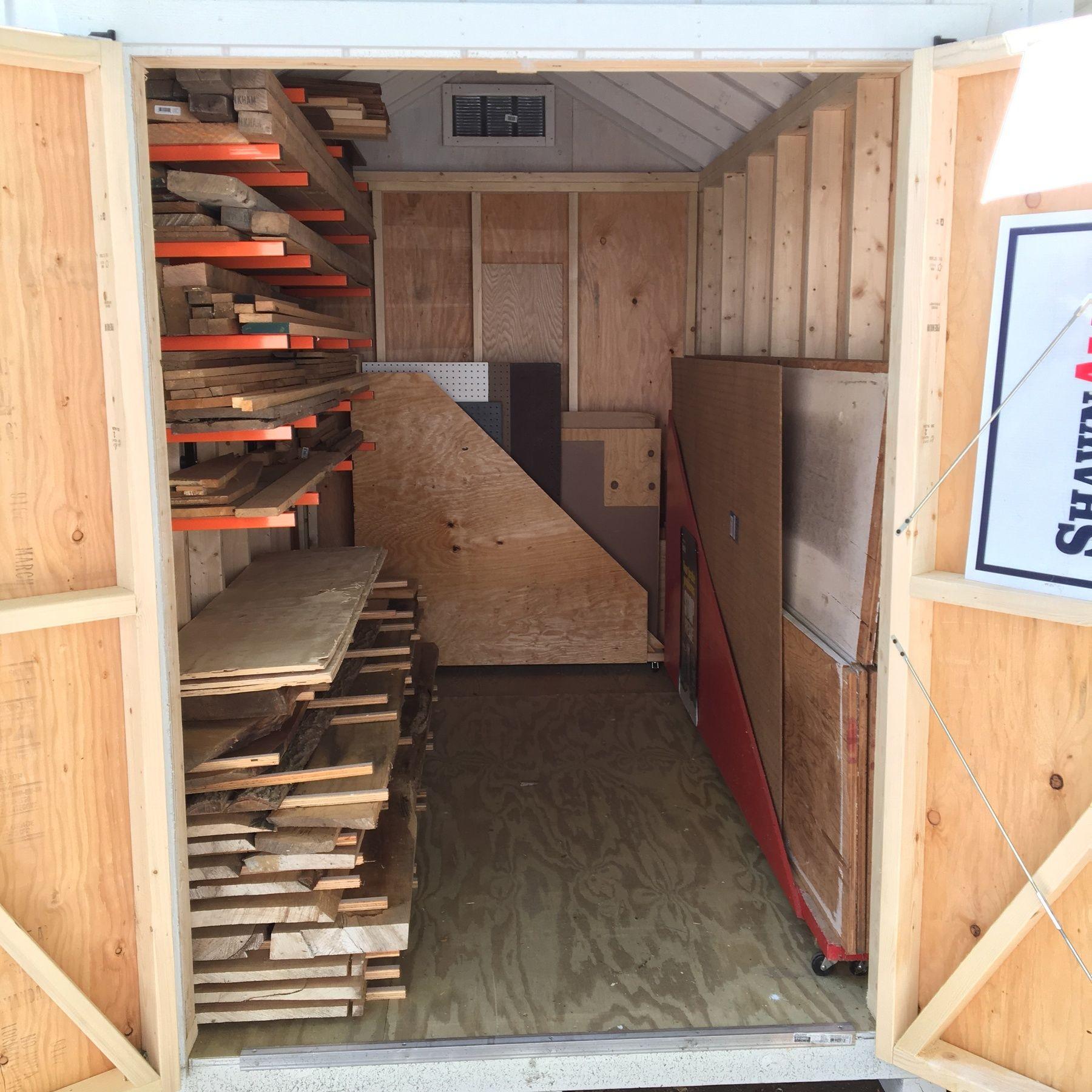 Bora Portamate Lumber Rack System 6 Tier Lumber Storage