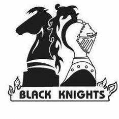 Black Knights Chess Club Logo Knight Chess Blackest Knight Knight