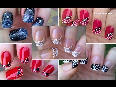 Dibujar fcil flores en tus uas the easiest way to paint compilation part todays nail art video is my second nail art compilation i hope youll like the nail designs i have put into this video thanks prinsesfo Image collections