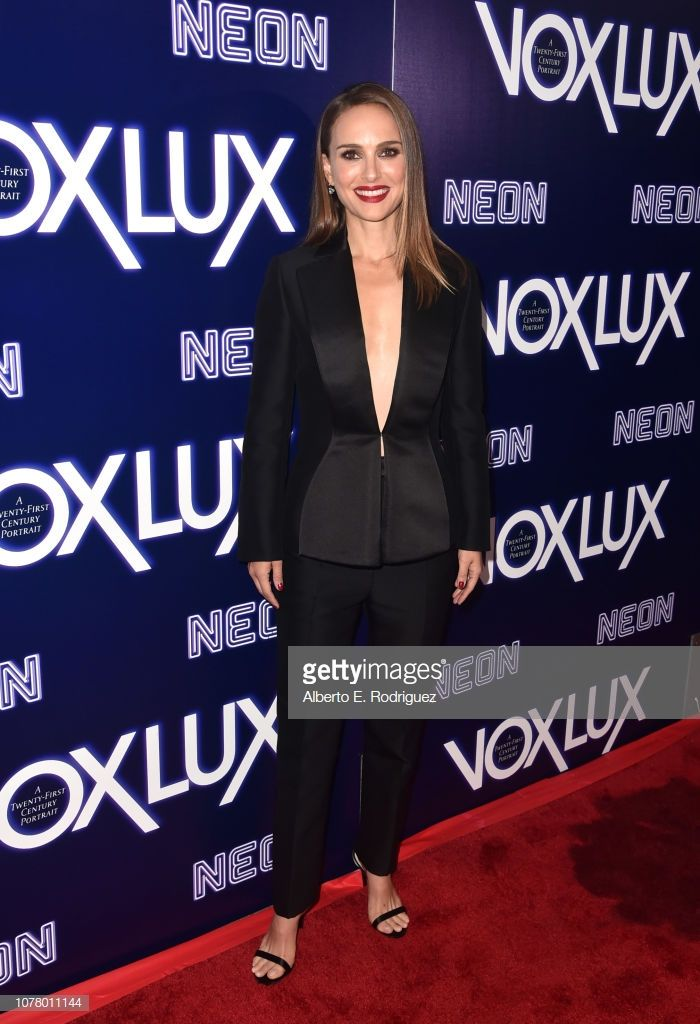 Natalie Portman attends premiere of Neon's 'Vox Lux' at