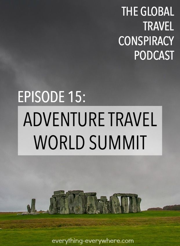 This week I have two guests. Shannon Stowell, who is the President of the Adventure Travel Trade Association, and Chris Chesak, who is the Executive Director of the Family Travel Association.  We talk about the state of travel and its future.
