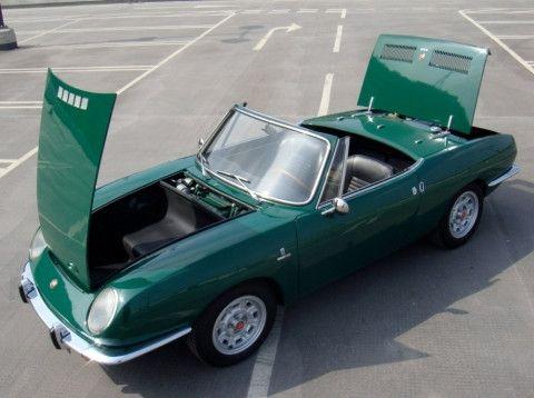 1967 Fiat 850 Bertone Spyder Convertible Fiat 850 Classic Cars