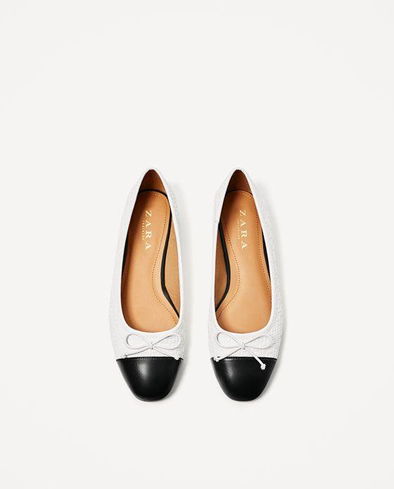 Image 4 de BALLERINES TRESSÉES de Zara. TresserChaussures PlatesChaussures  Pour FemmesBallerinesChaussures ... 4775a3abdb52