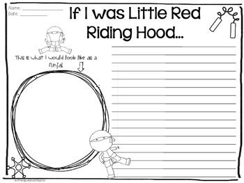 little red riding hood lesson plans 2nd grade