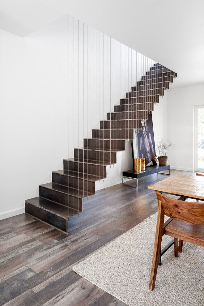 Best Contemporary Ultra Modern Floating Staircase Suspended 400 x 300