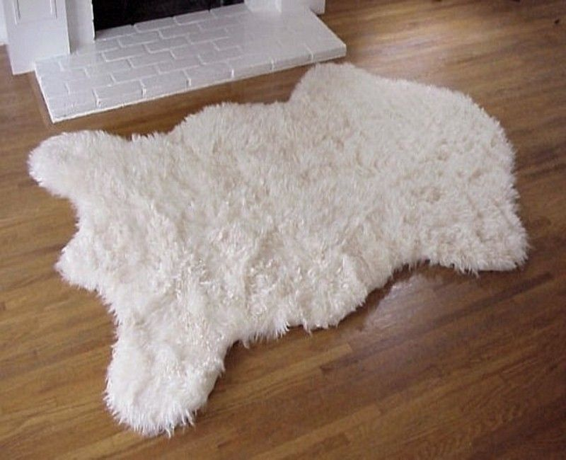 Hollywood Love Rugs Faux Sheepskin Rug Ivory 69 00 Http Www