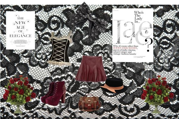 """""""lace and steampunkish"""" by bennys-baby ❤ liked on Polyvore"""