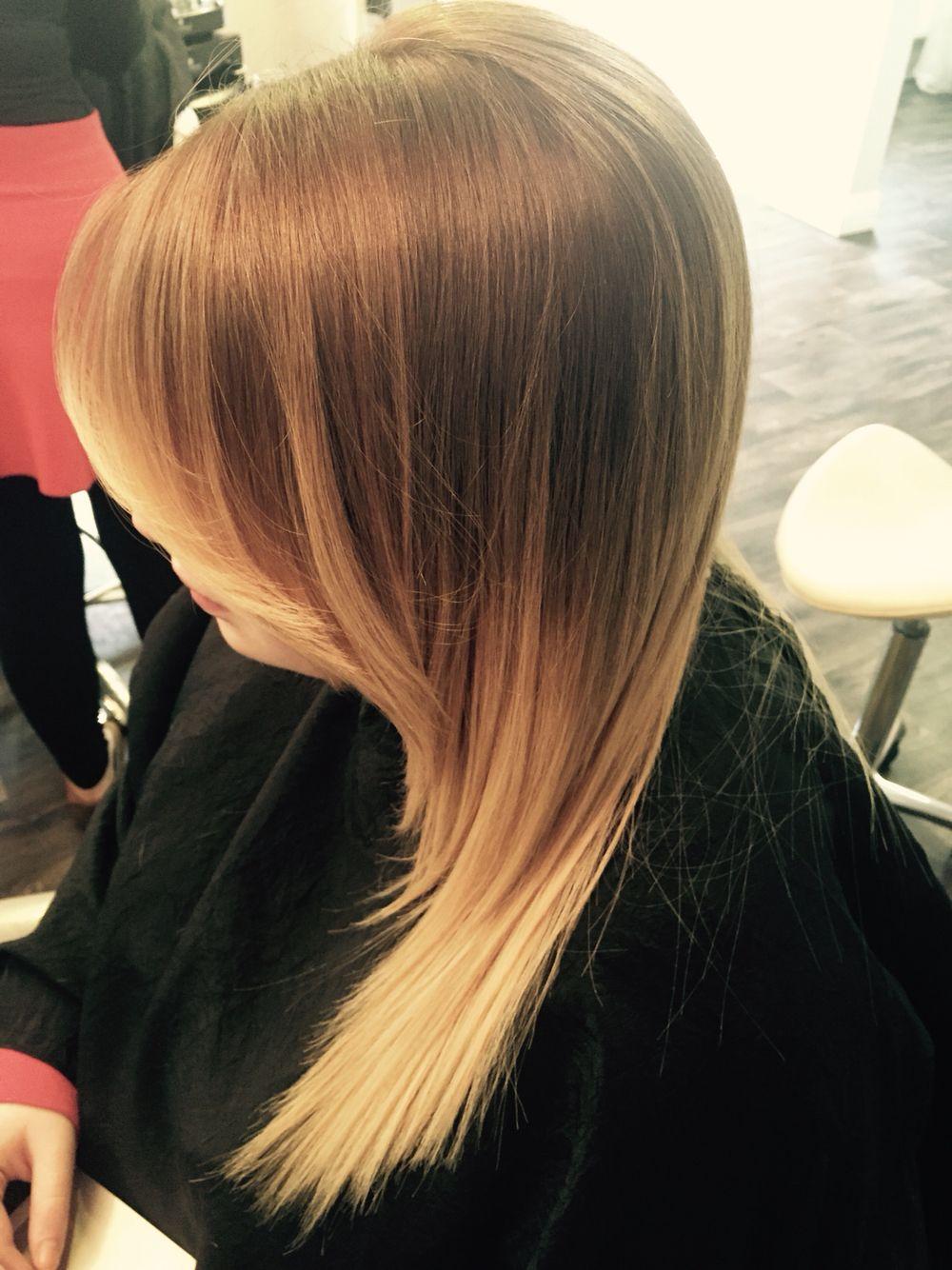 Ballayage Blond dedans soft blonde ombré ballayage | hairi <3 | pinterest | blondes