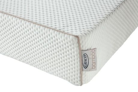 Graco 6 Inch Dual Comfort Baby Crib And Toddler Mattress White 2
